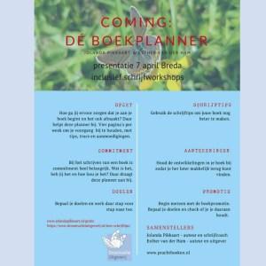 Uitnodiging boekpresentatie Boekplanner 800