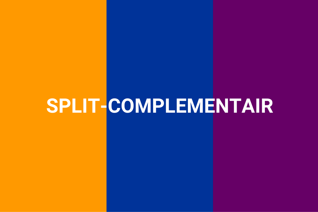 split complementair