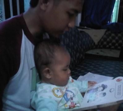 janitra,bapak, dan buku
