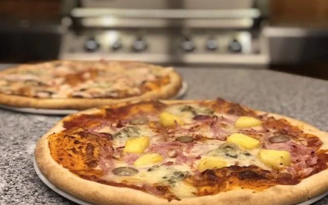 Koldhævet Pizza