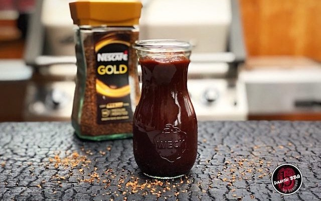 Coffee Barbecue Sauce – En simple BBQ Sauce med Kaffe