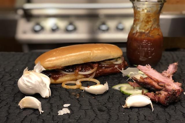 Ribs Deluxe Burger - den ultimative SpareRibs Burger