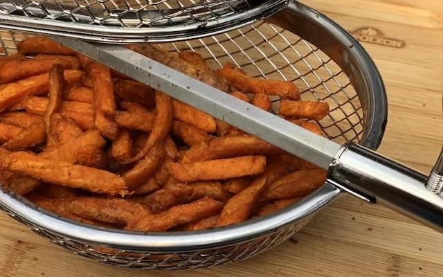 Sødekartofler Pommes Frittes – på Rotisseri fra Grillen