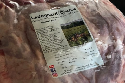 Ladegaard Duroc Boston Butt
