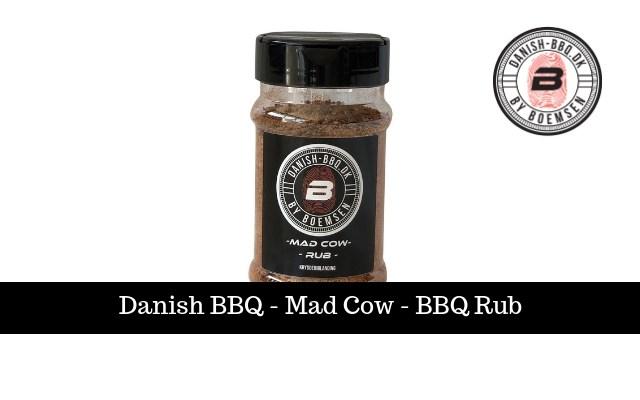 Mad Cow | BBQ-Rub 220g
