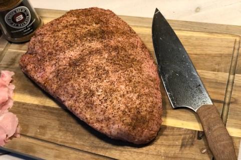 Cowboy Coffe Culottesteg med Njord kokkekniv*