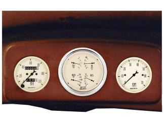 1935-1939 Chevy Truck Gauge Panels