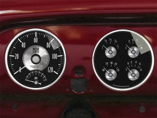 1951-1952 Chevy Car Gauge Panels