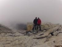 On the Summit. 16,500ft