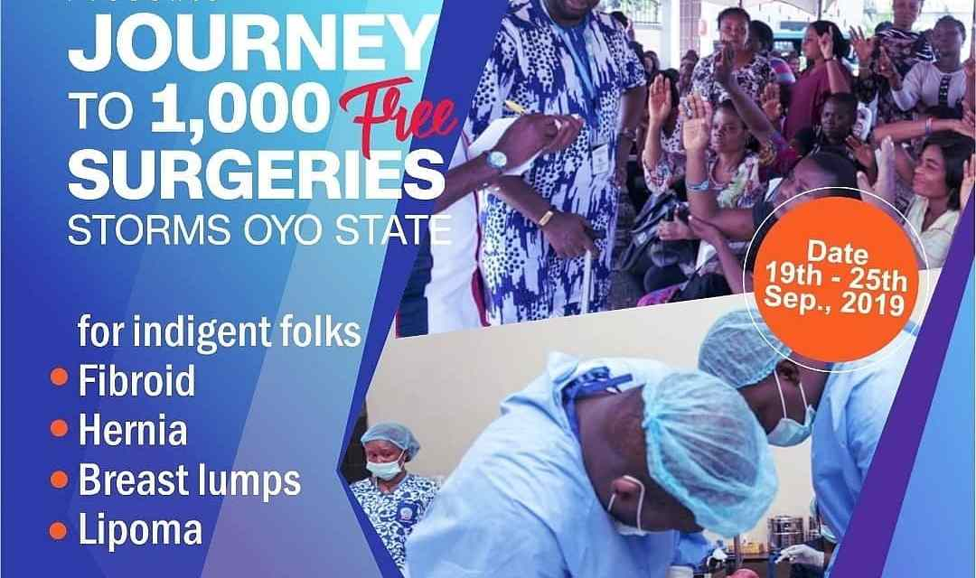 Free surgeries for 1000 women