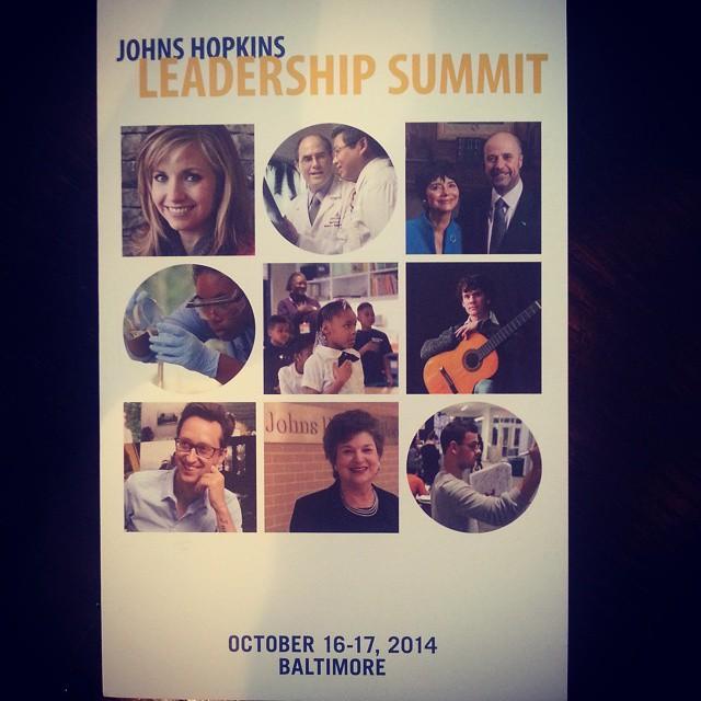 Johns Hopkins Leadership Summit 2014