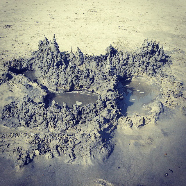 Mordor the sandcastle