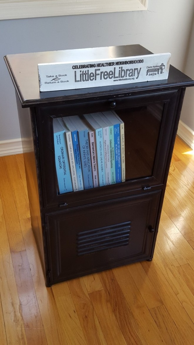 Little Free Library #8424 (prelaunch)