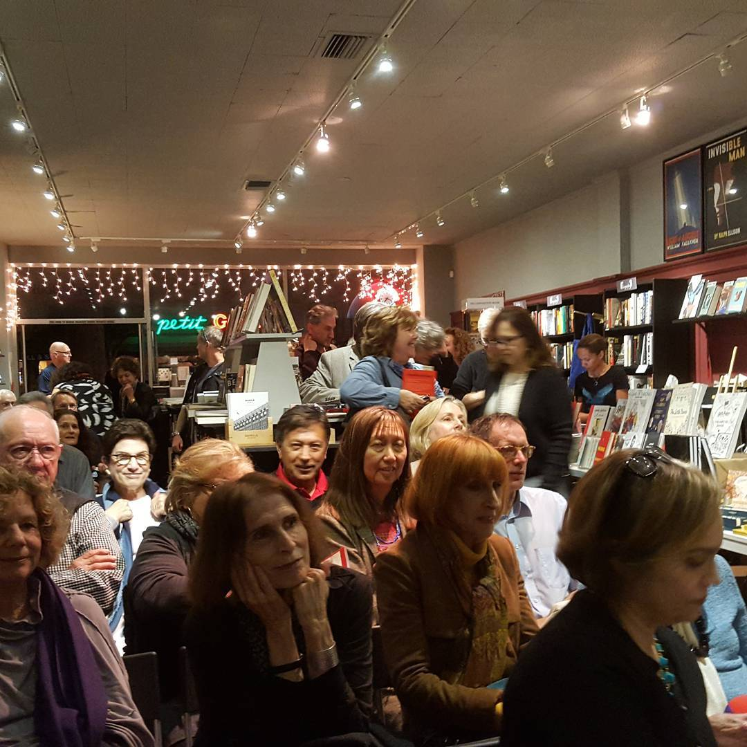 Amerikan Krazy Book Launch at Chevalier's Books