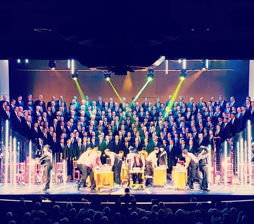 Gay Men's Chorus of Los Angeles presents Bette, Babs & Beyoncé - What a great show last night!