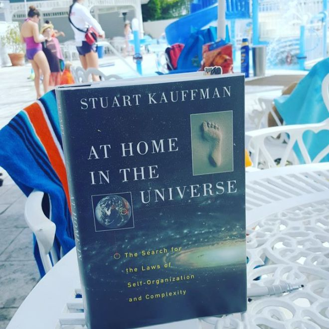 Some light poolside reading.