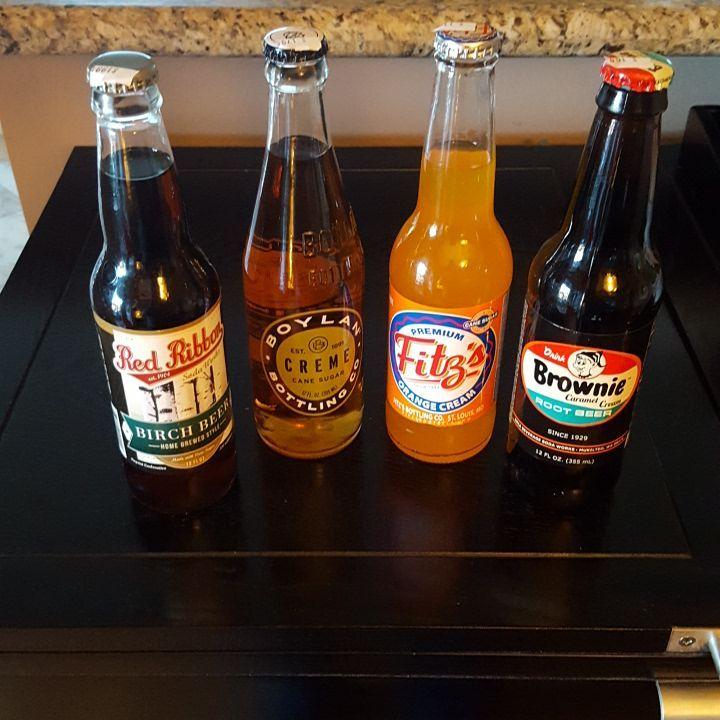 Flavored soda haul #rootbeer #birchbeer #cremesoda #orangecream