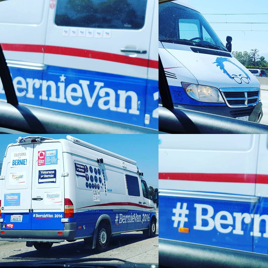 Feel the Bern California 2016