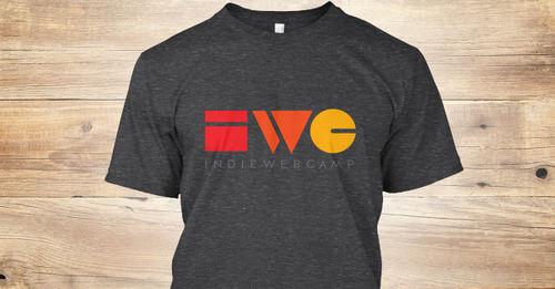IndieWebCamp T-shirt