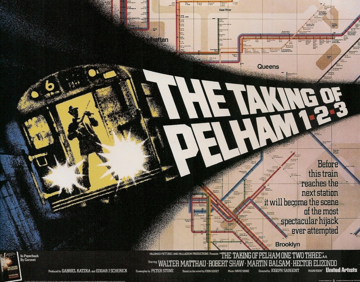  My review of The Taking of Pelham One Two Three (United Artists, 1974)