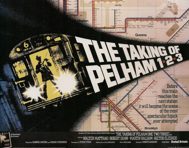 🎞 My review of The Taking of Pelham One Two Three (United Artists, 1974)