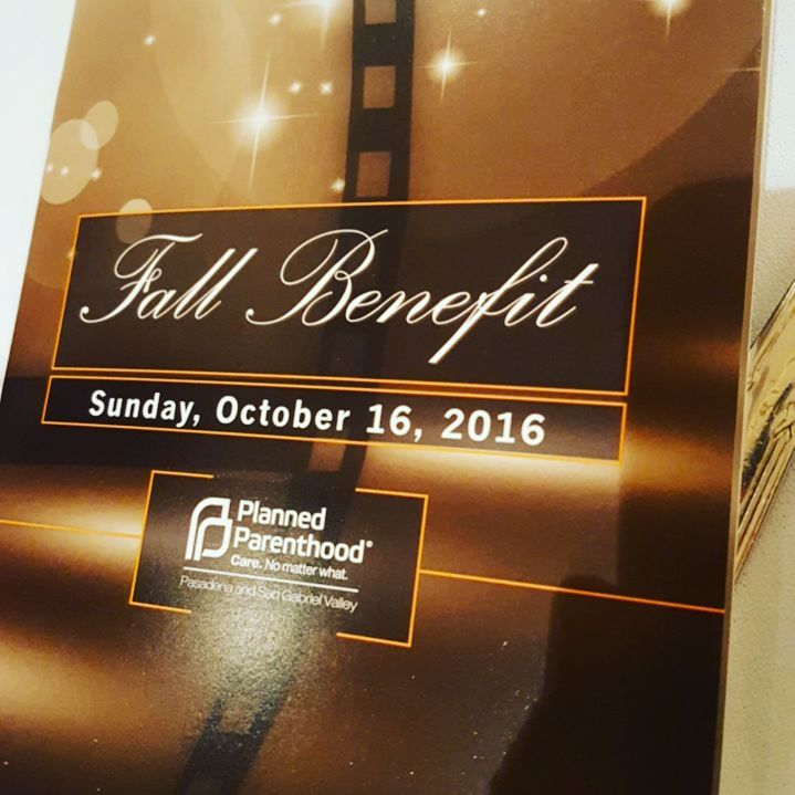Fall Benefit for Planned Parenthood Pasadena and San Gabriel Valley
