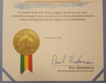 A close up of the text of the certificates
