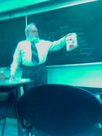 04/02/2009 Absorbing genius from Dr. Sol Golomb (as he teaches combinatorics)