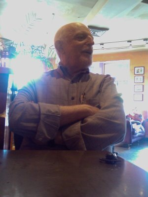 06/06/2009 Afternoon snack with John Astin