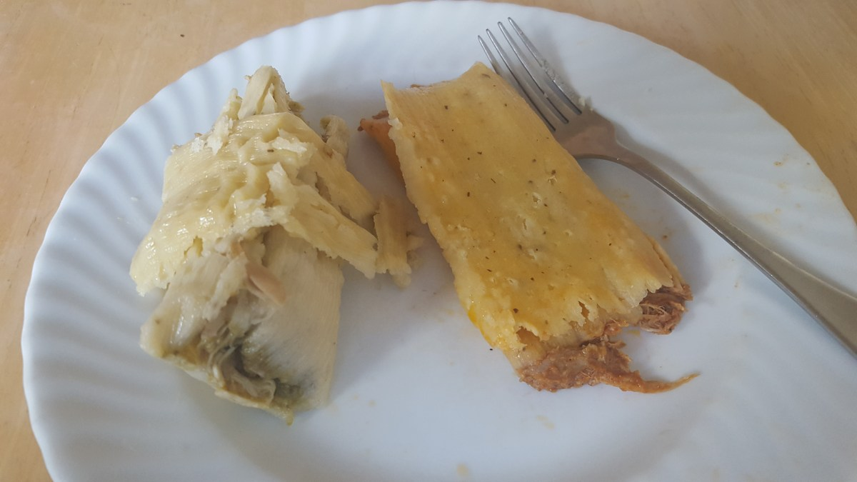Early Christmas Tamales