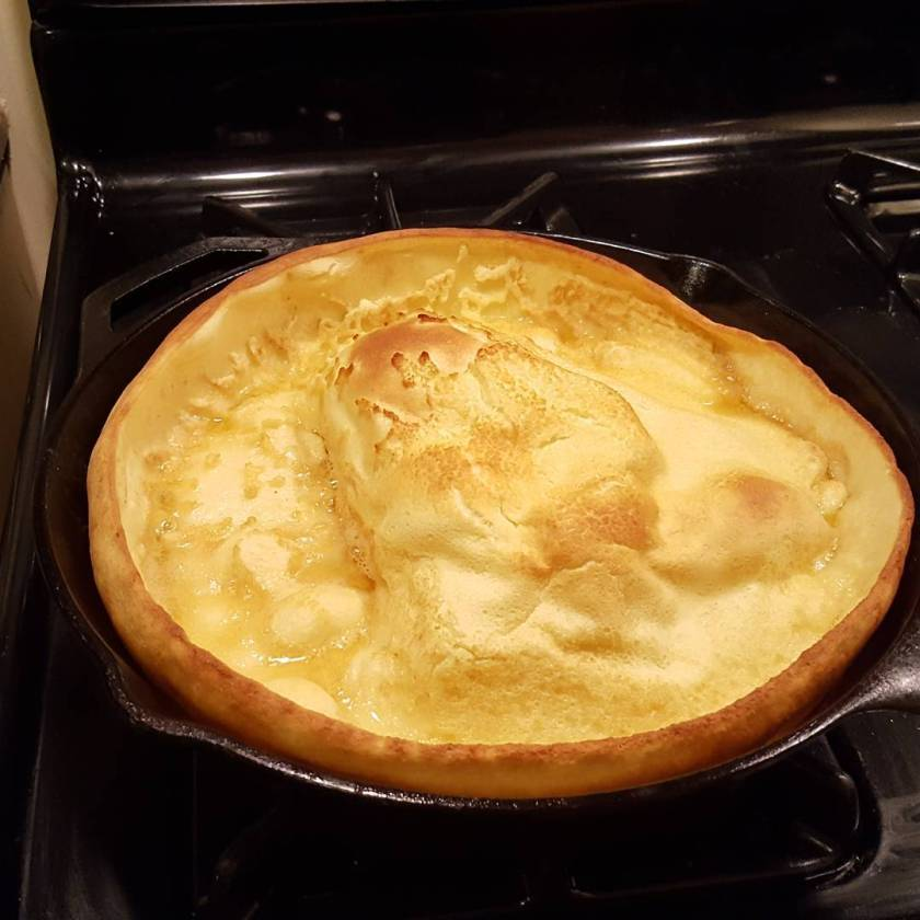 A Dutch Baby for dinner
