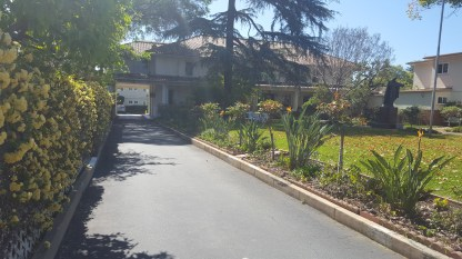 Driveway to the Carmelite Convent
