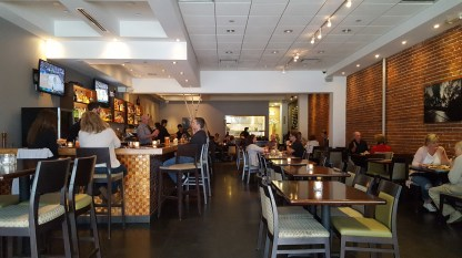 Main dining room at Montrose Town Kitchen & Grill