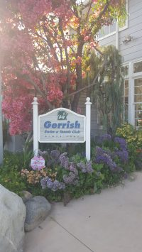 The entrance at Gerrish