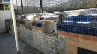 The grilling area at Gerrish