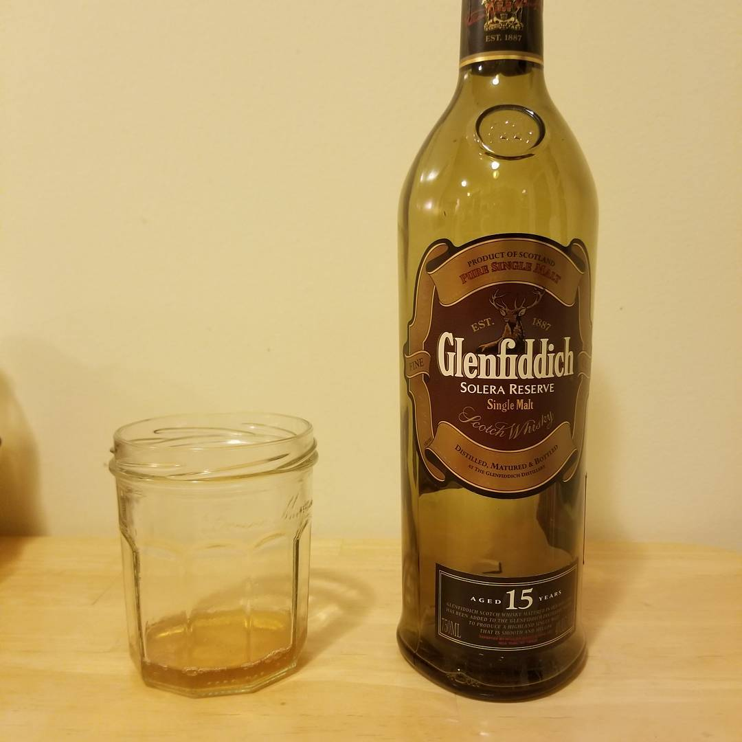Packing day two: Glenfiddich 15