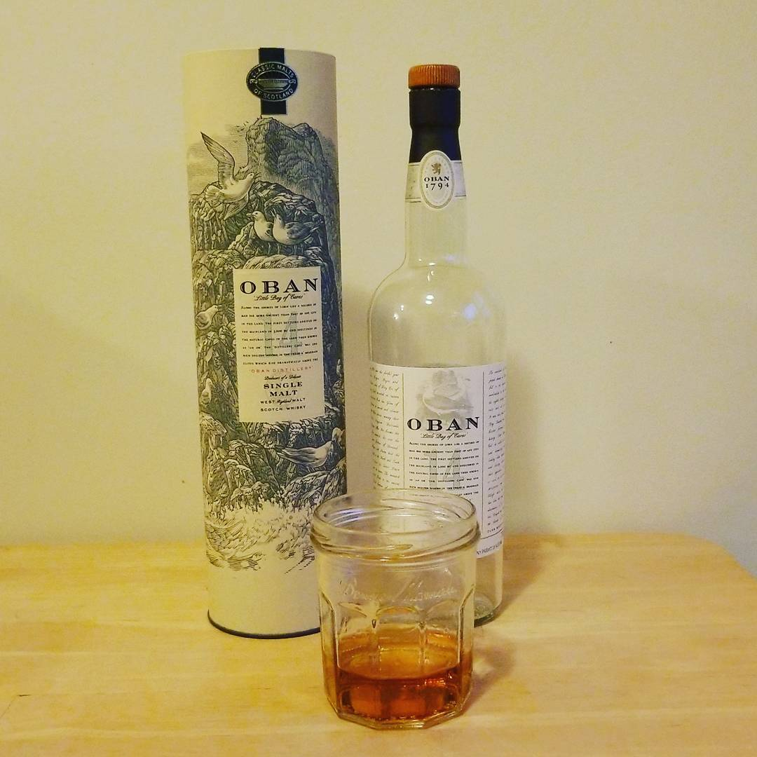 Packing day three: Oban 14
