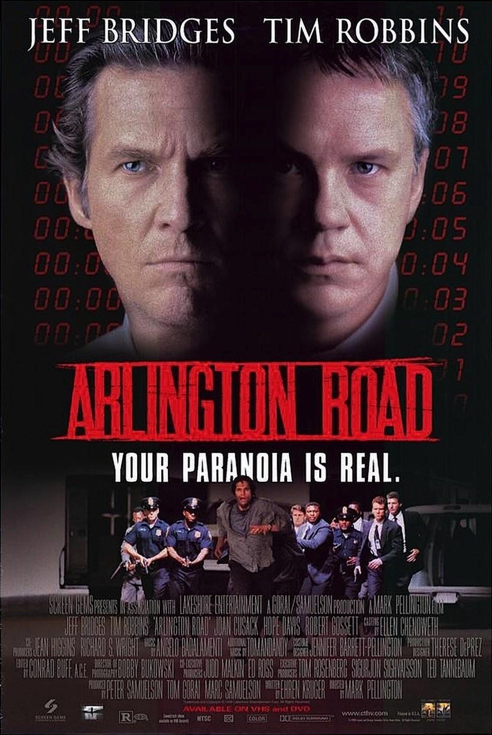 🎞 Arlington Road (Screen Gems, 1999)