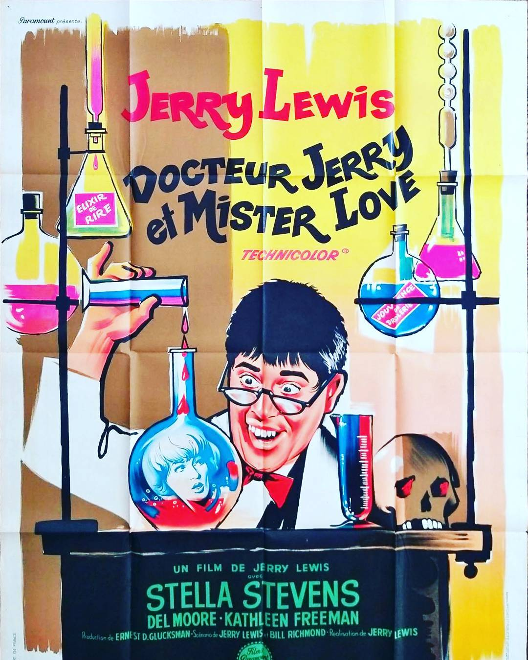 Docteur Jerry et Mister Love ❤️⚗️👓🎬