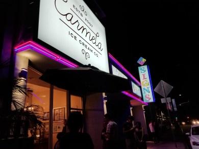 Carmela's after dusk