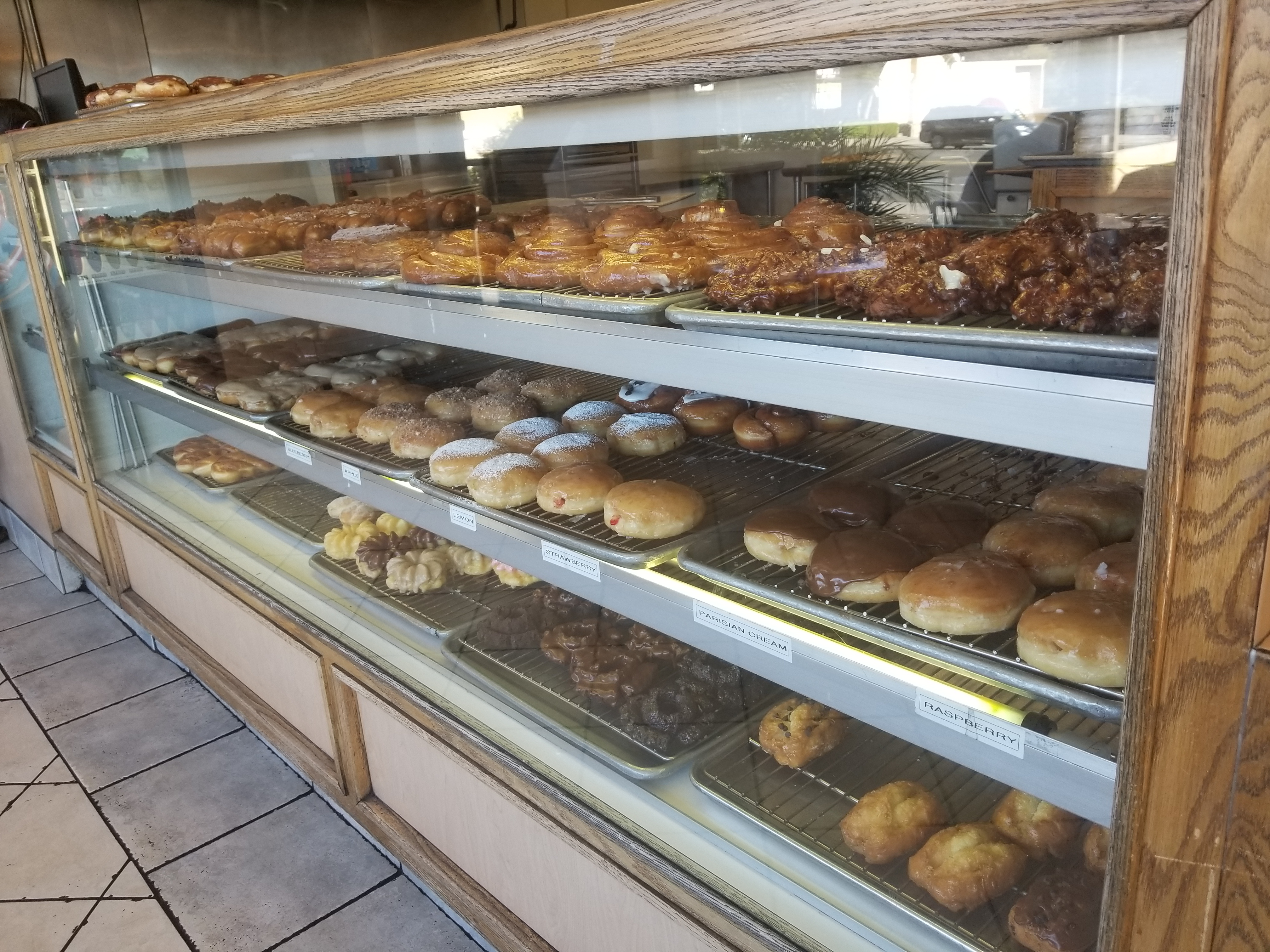 Donuts at Foster's Family Donuts
