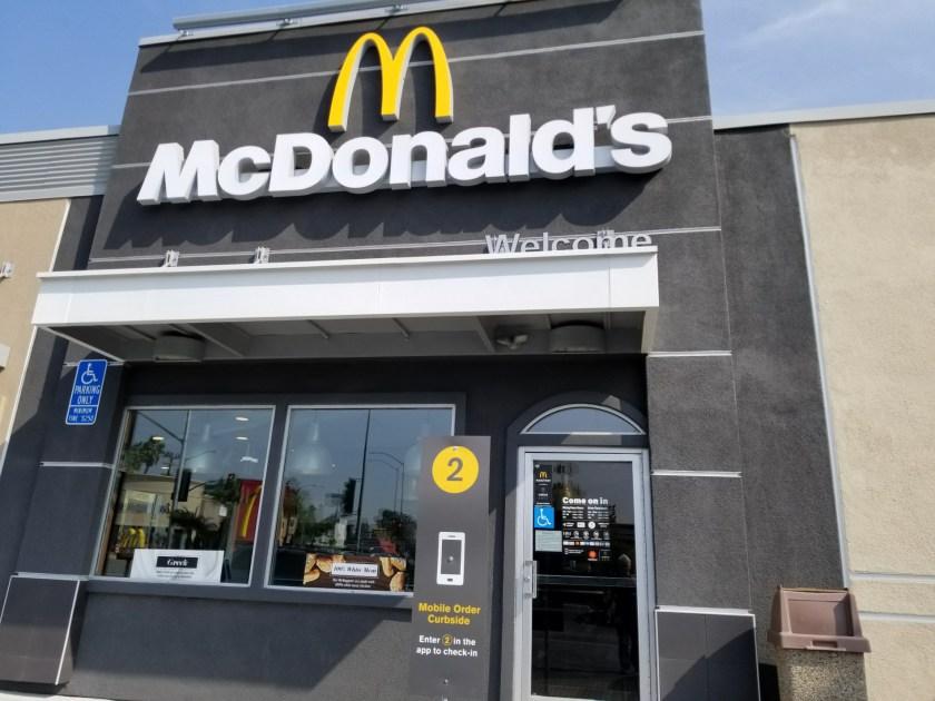 Checkin McDonald's
