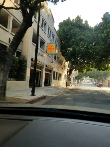 Checkin City of Pasadena Schoolhouse Garage