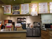 The order counter at Jamba Juice UCLA