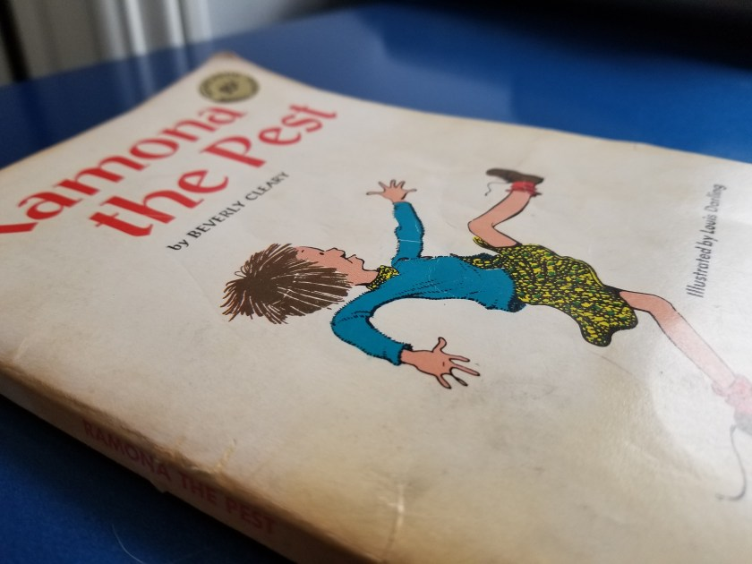 📖 Read pages 95-110 of Ramona the Pest by Beverly Cleary