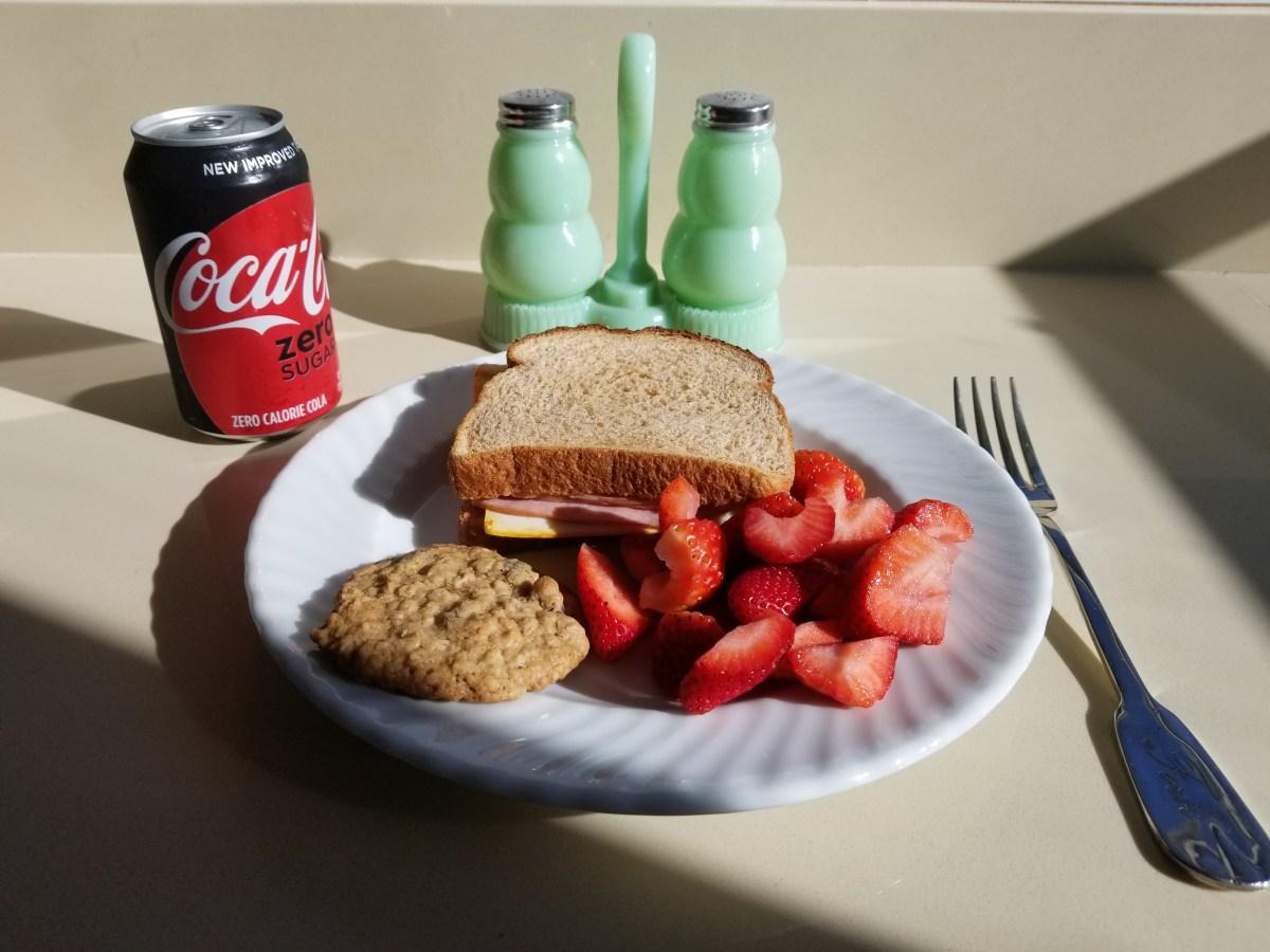 My first ham sandwich post on my own website