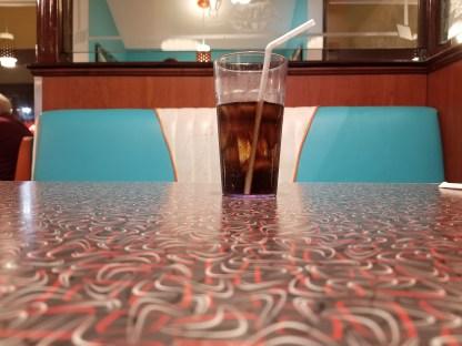A towering Diet Coke