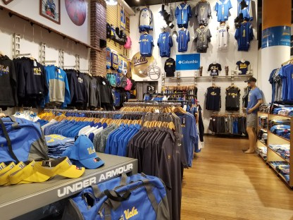 UCLA Campus Store interior