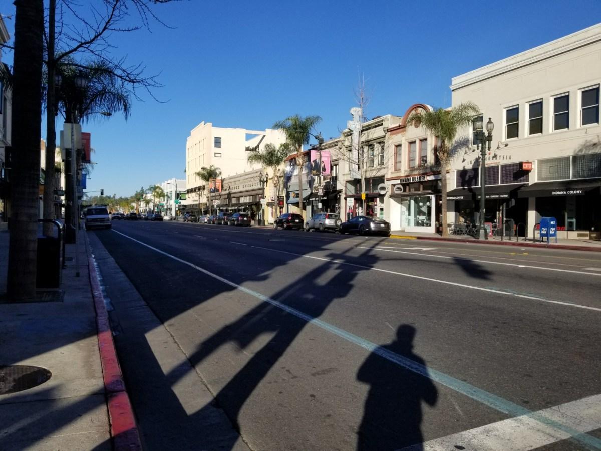 Checkin Old Town Pasadena