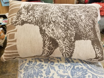 California bruin pillow